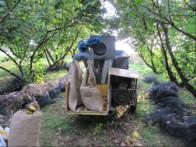 stroj za ciscenje lesnikov